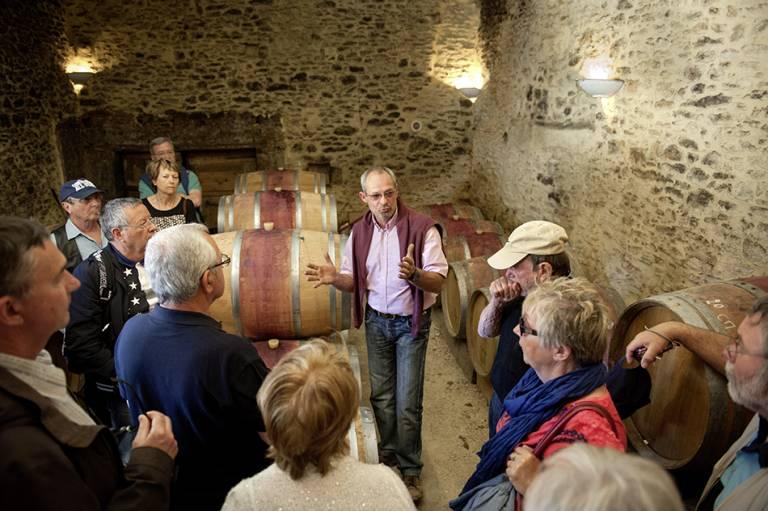 Oeno-tourisme au château Rouffiac, Duravel, photo : Alain Auzanneau