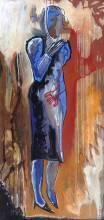 Chevaleyrias inconnue-02 - acrylique sur toile - 128x63 cm - 2013