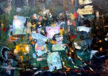 Rubinat le Mur d'Affichage 50x70