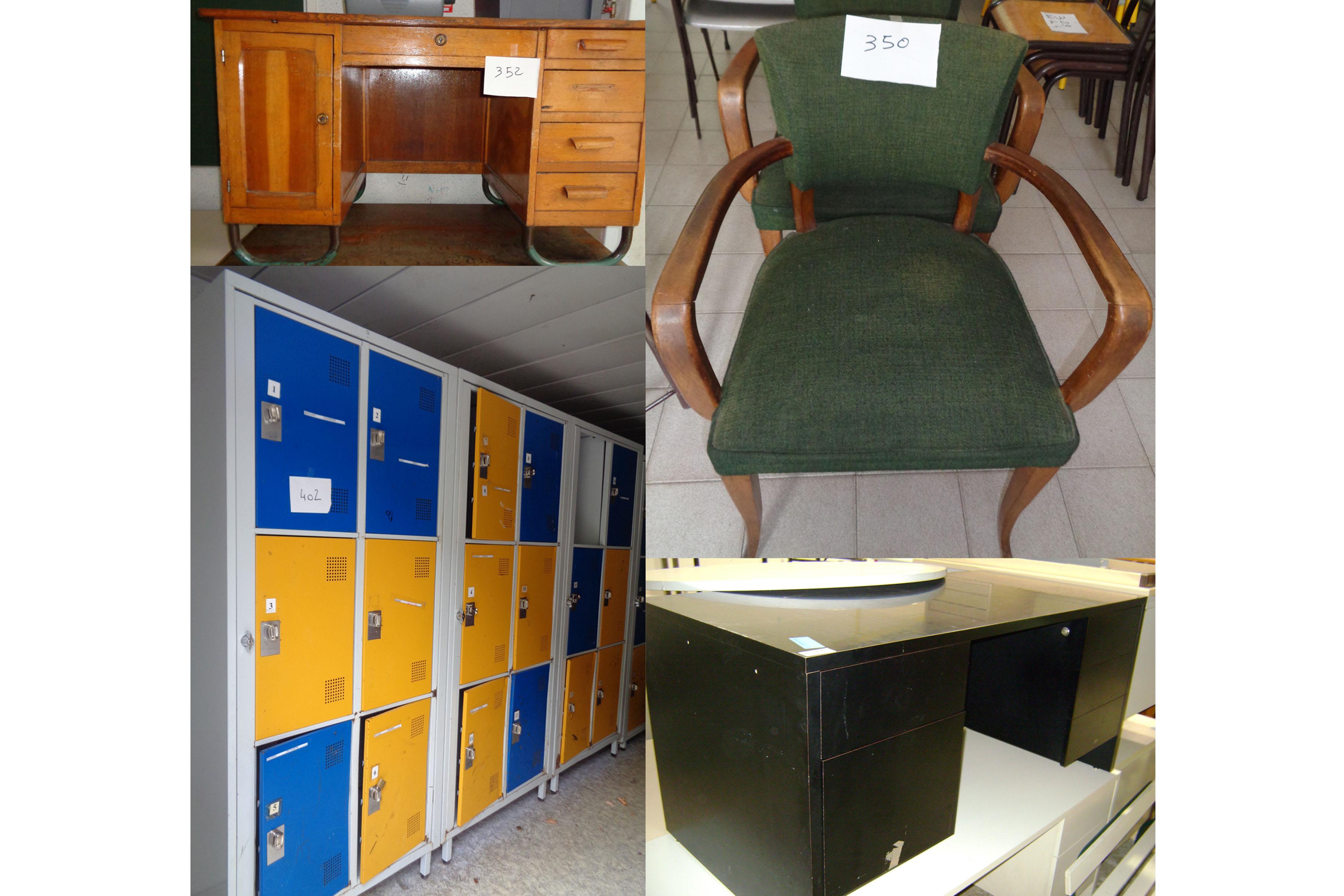 ancien collège de luzech : grande vente aux enchères du mobilier et